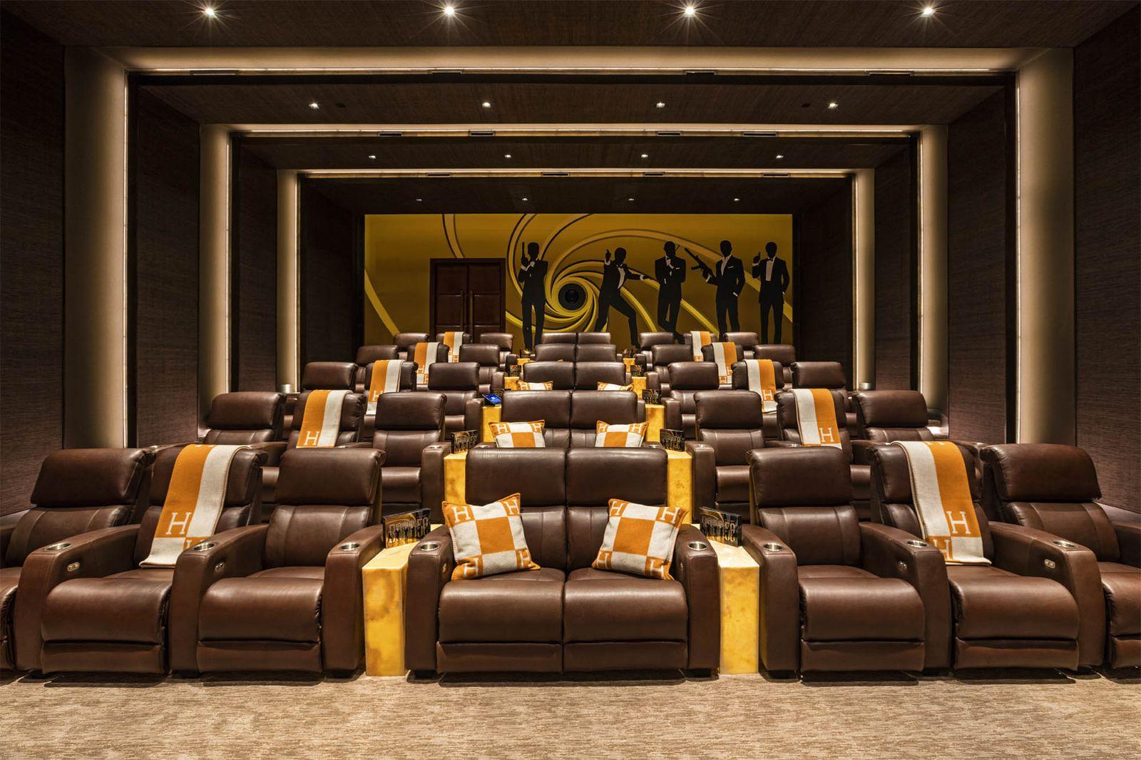 Bruce Makowsky's Cinema Room