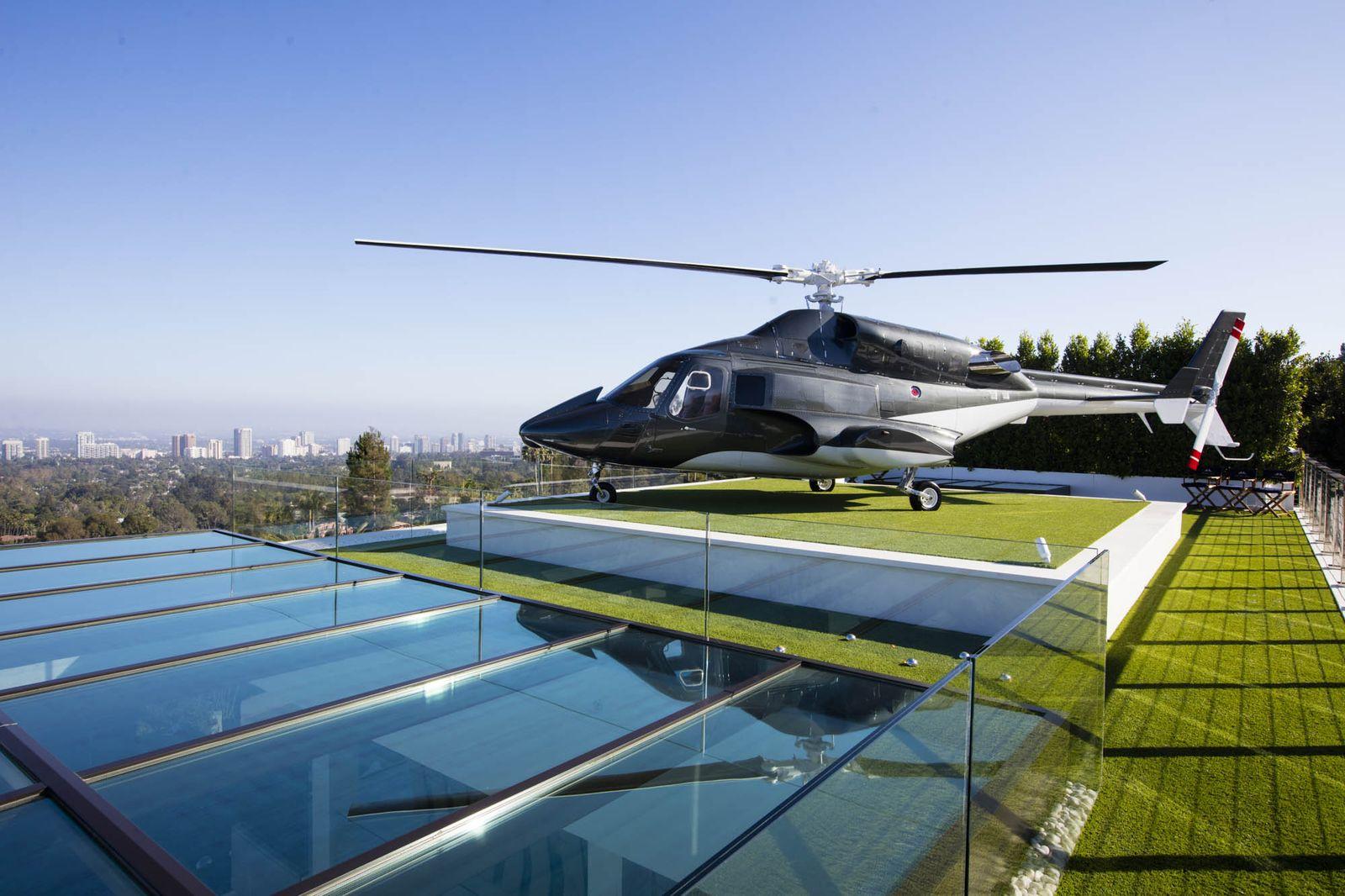 Bruce Makowsky's Helicopter