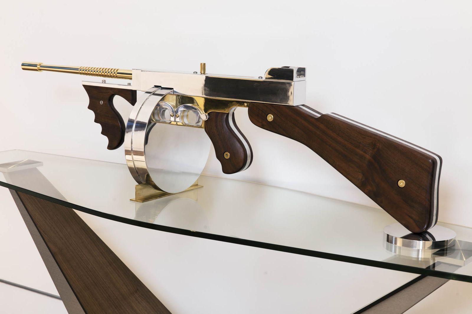 Bruce Makowsky's Machine Gun