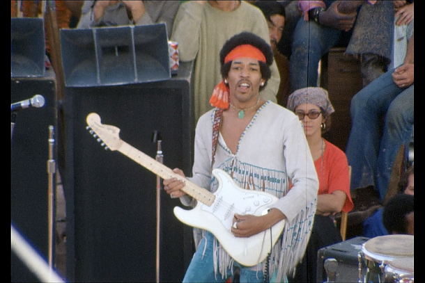 Jimi Hendricks Woodstock Strat
