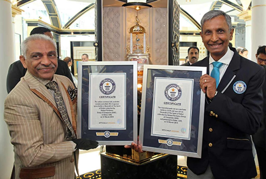 Shumukh World's most expensive perfume Guinness World Record