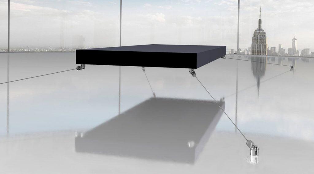 magnetic floating bed by janjaap ruijssenaars 1 2m