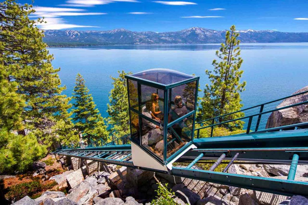 Crystal Pointe Lake Tahoe Dream Funicular