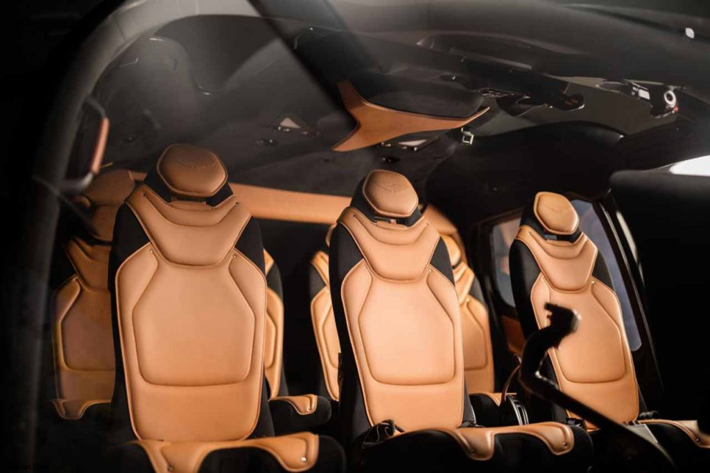 Helicopter for sale ACH130 Aston Martin Edition Interior