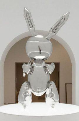Rabbit by Jeff Koons