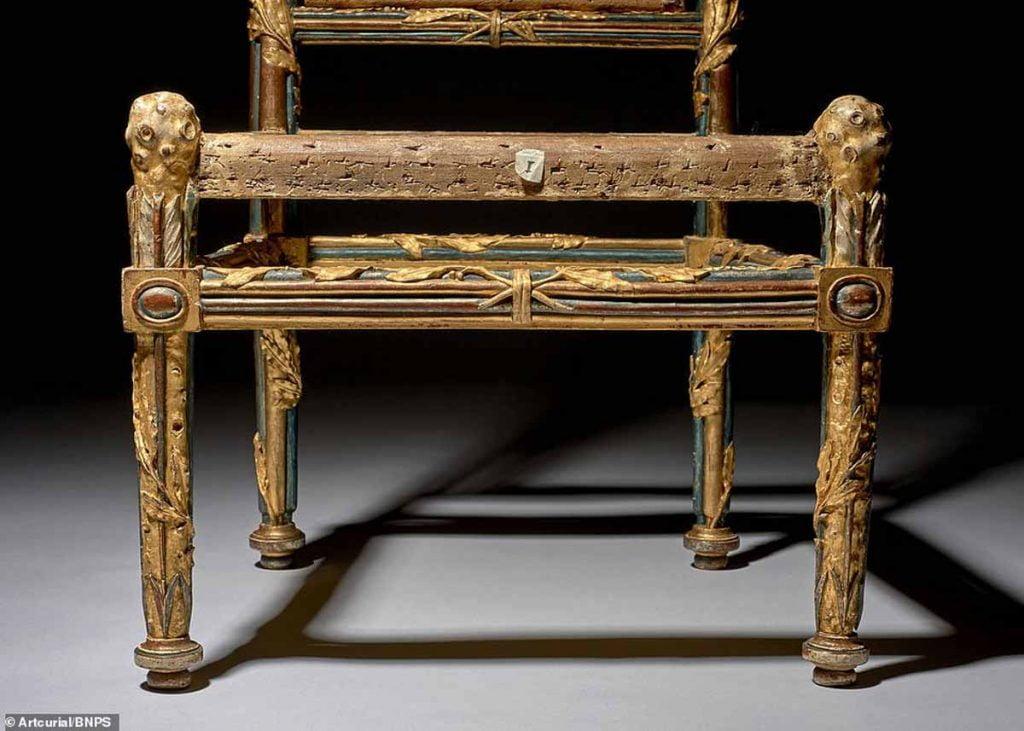 Four Broken Wooden Chairs